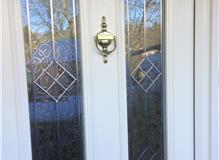 Alphaglaze Composite Door Decorative Glass