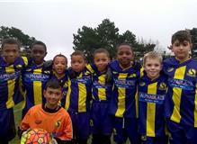 Team Photograph of Selsdon Junior Hawks