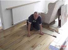 Supply and install oak flooring