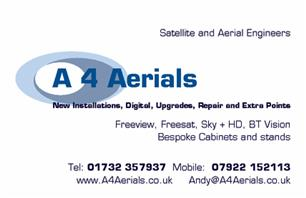 A 4 Aerials Limited