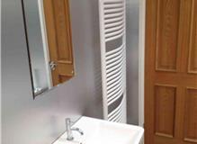Upstairs Bathroom in Barn