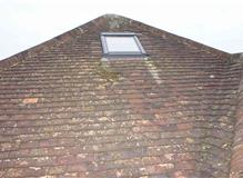 Velux Window on plain tile roof