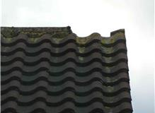 Replaced Roof Ridge Tile in Ashford