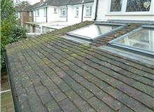 Replacement of roof for large extension in Hampton.