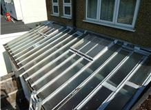 Aldridge and Sons glass roof replacement