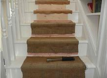 heavy duty stair underlay fitted