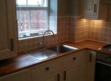 Kitchen in flat in Reading