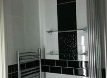 bathroom, flat in poole.
