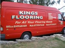 Kings Flooring Fitting van