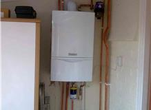 Replace boiler and power flush.