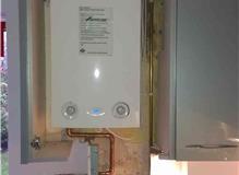 Installation of new boiler
