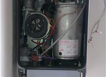 Boiler replacement in progress