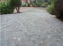 Alpha 60mm blockpaving in charcoal