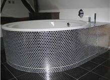 Bathroom, converted barn, Warwickshire