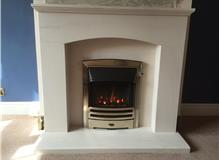 Gazco HE Logic Gas Fire with Ramsay Suite