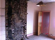 Rendering, paving, bathroom, kitchen, electrics and refurbishment.