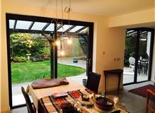 Rear extension and bi fold doors