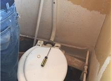 Removal of exsisting WC and decor