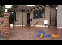 Block Paving Cleaning and Sealing Demonstration