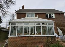 Conservatory before we changed the roof
