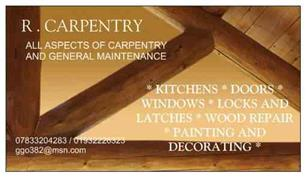 R Carpentry