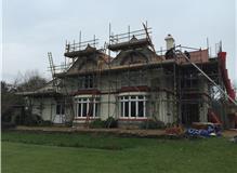Plain tile re-roof, Wisbech