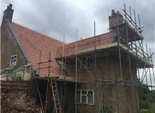 Plain Tile Re-roof, Tilney All Saints