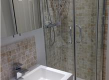 Bathroom ripped out and re-fitted at London SW20- West Wimbledon