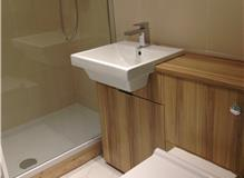 Fitted new ensuite at London Wandsworth