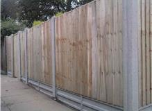 Fence in New Milton