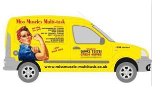 Miss Muscles Multi-Task