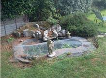 Removal of a pond.