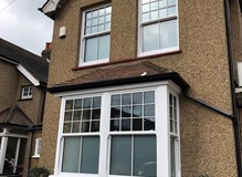 Upvc Vertical Sliding Sash Windows Installed
