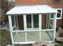 Basic lean  to conservatory