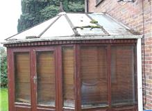 Build a UPVC conservatory.