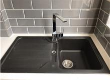 kitchen sink and Franke tap installation