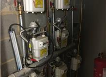 Gas safety maintenance on apartment block