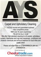AYS Carpet & Upholstery Cleaning