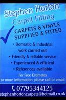 Stephen Horton Carpet Fitting