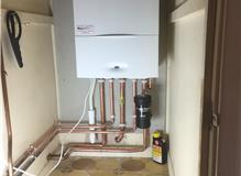 Boiler replacement with Worcester Bosh