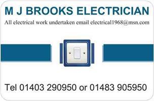 M J Brooks Electrician