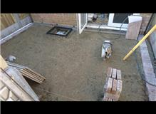Preperation for new patio..Ringwood