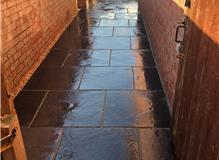 The new sandstone pathway