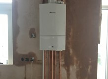 New boiler install in Mitcham