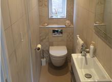 Wall insulation and cloakroom refurbishment, Ascot