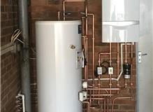 MEGA FLOW UNVENTED HEATING SYSTEM INSTALL