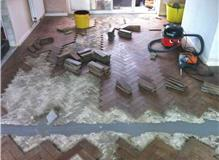 Wood floor repair in Balham.