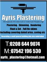 Ayris Plastering & Building Services