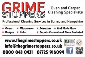 Grime Stoppers Oven and Carpet Cleaners
