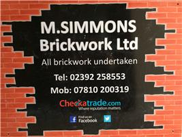M Simmons Brickwork Ltd